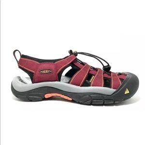 Keen Newport H2 Women's Burgandy  Sandals